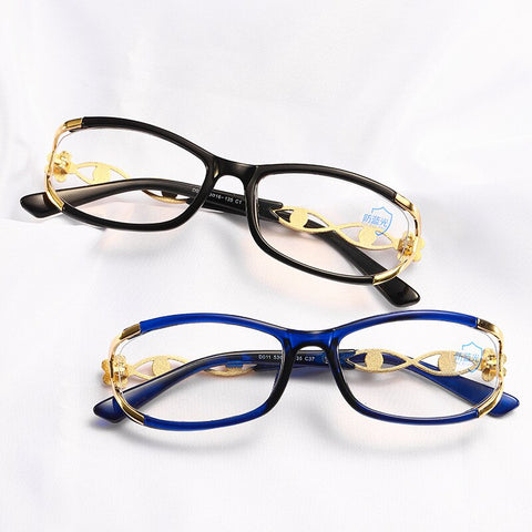 Vazrobe Blue Light Blocking Glasses Womens/Ladies, Elegant Frame Design, Suitable for Smaller Faces