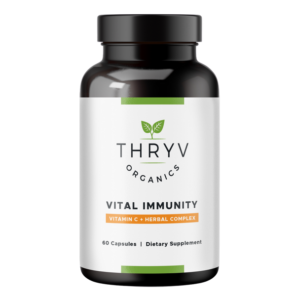 Thryv Organics Vital Immunity Vitamin C Supplement and Immune Support