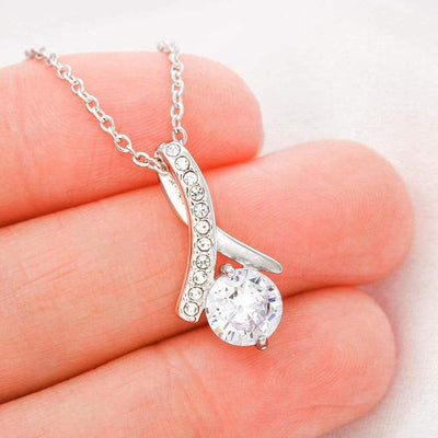 "Jewelry ""Allure"" Beauty Pendant With Cubic Zirconia (FREE Shipping Ends Today) Customfam USAJewelry"