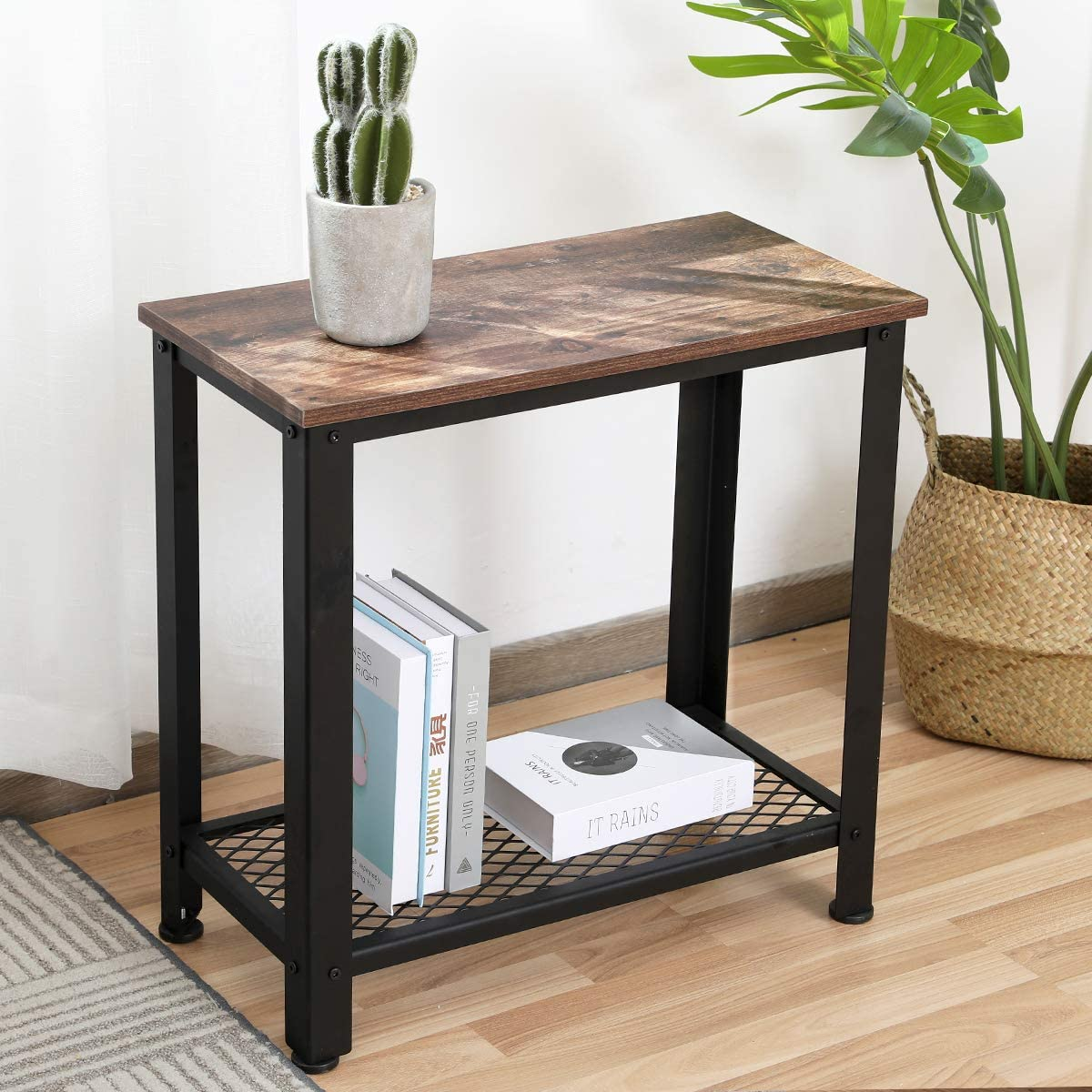 Save $39 On Console Table Sofa Table with Shelf Wooden