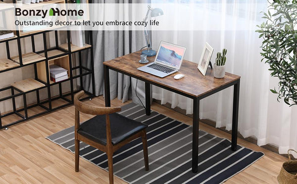 Today's Deal: $59 for Gaming Desk PC Computer Table Stable Wooden