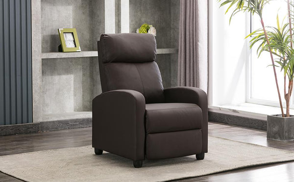 Save 40% Off on Push Back PU Leather Recliner Chair