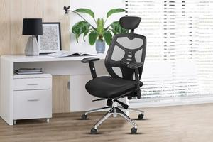 Save $50 on Bonzy Home High Back Reclining Office Chair with Footrest