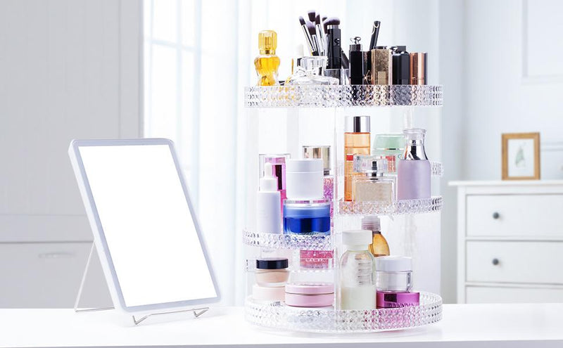 Today's Deal: Save 50% on Bonzy Home 360 Degree Rotating Makeup Organizer