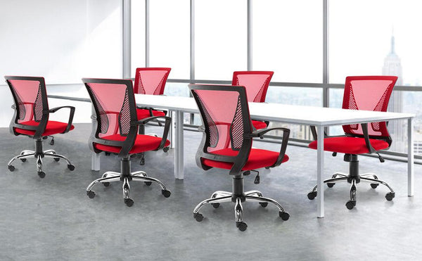 Today's Deal: Only $49 for Bonzy Home Mid Back Ergonomic Mesh Office Chair