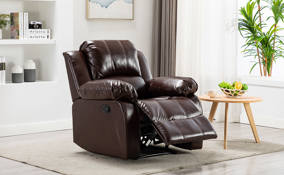 Air Leather Recliner Chair