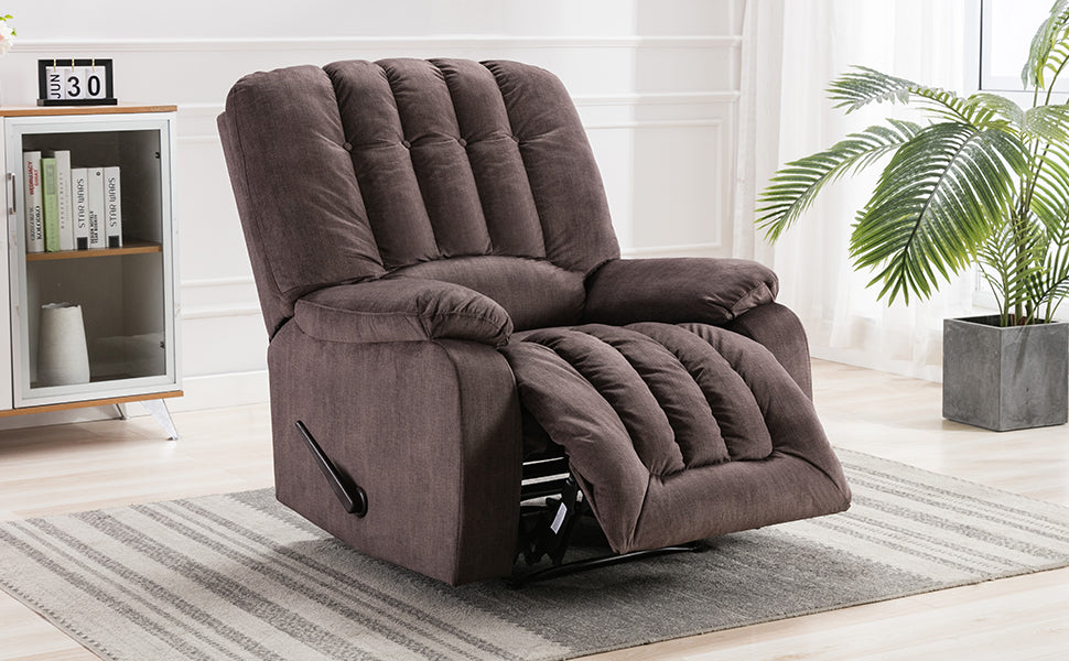 Overstuffed Recliner Chair