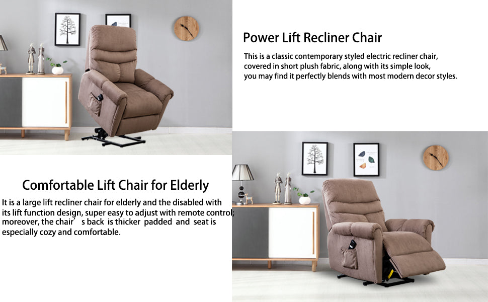 Lift Assist Recliner Chair