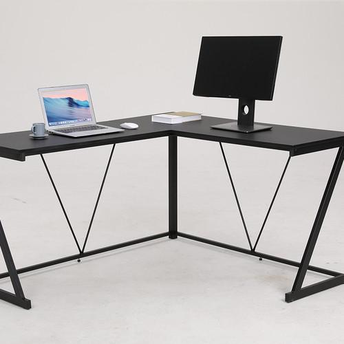 L Shaped Desk L Shaped Office Gaming Desk Black