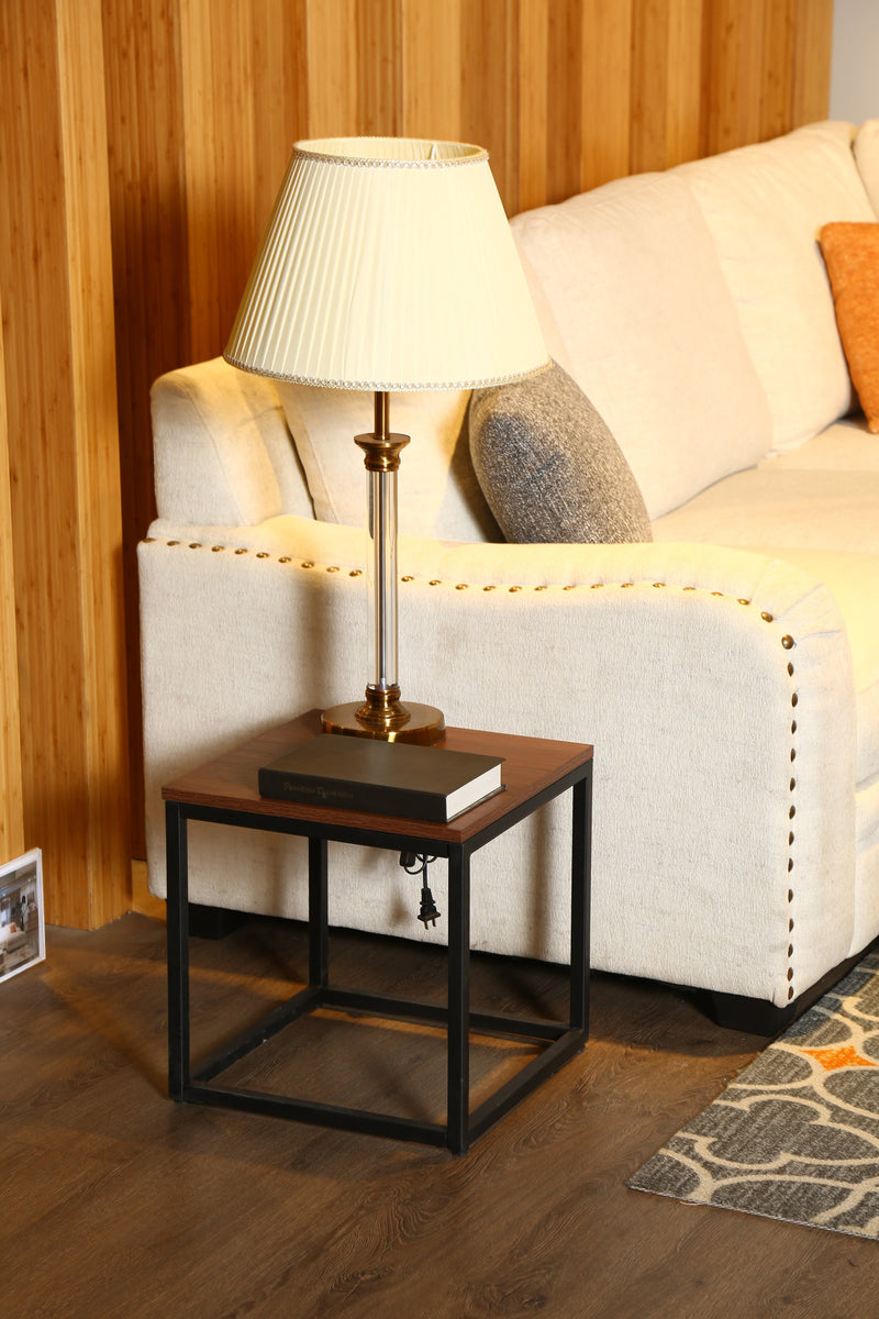 Simple style table lamp table