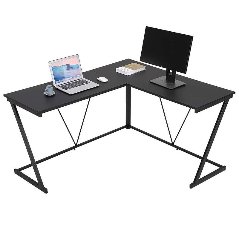 l shaped computer desk bonzy home l shaped desk ikea