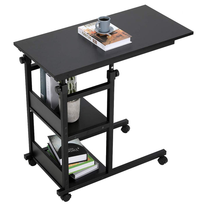 Snack Side Table with Castors