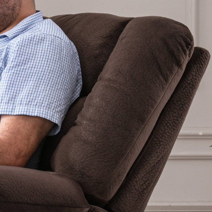 Bonzy Home Reclining Office Chair with Footrest - YO2000A-B1