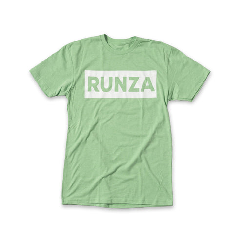 Candy Apple Green T-shirt with White box containing the word