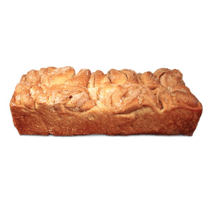 Photo of a dozen loaf of Miller and Paine® cinnamon rolls.