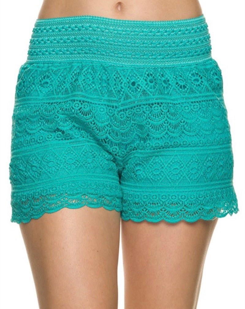BAL HARBOR LACE SHORTS