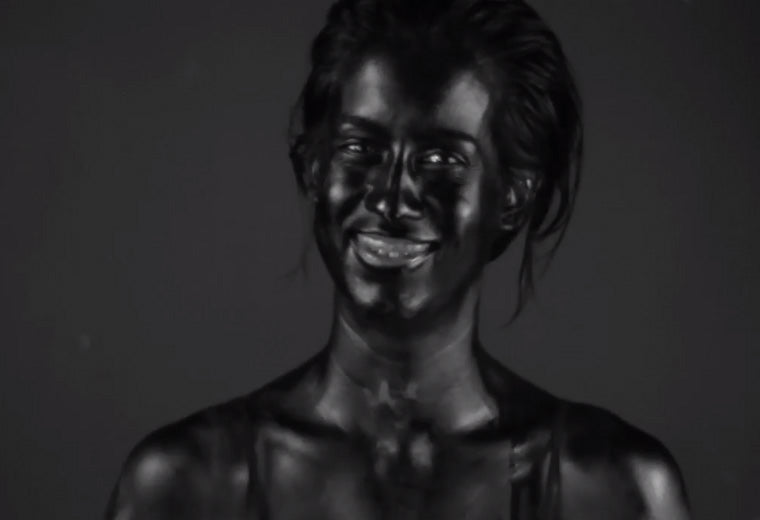 Artist Uses UV Camera to Show Effects of Sun on Skin, and