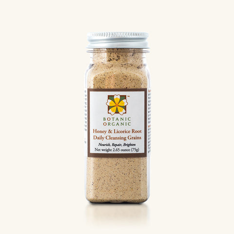 Honey & Licorice Root Daily Cleansing Grains
