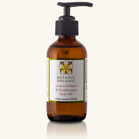 Lemon Verbena & Frankincense Body Oil