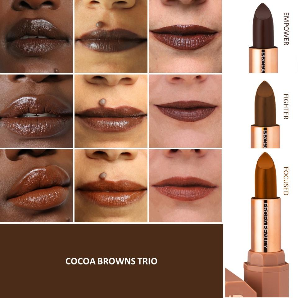 Propa Beauty - Cocoa Browns Trio