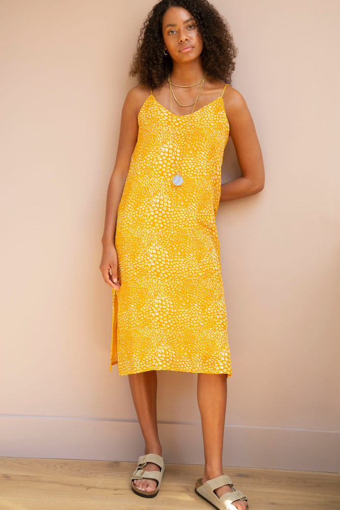 Yellow Sienna Dress