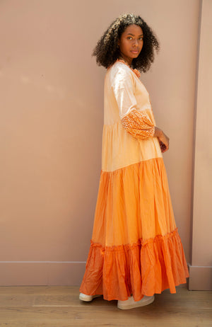 Orange Tilly Dress