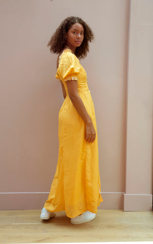 Yellow Lily Dress