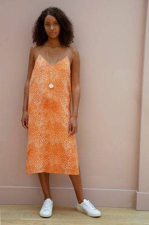 Orange Sienna Dress