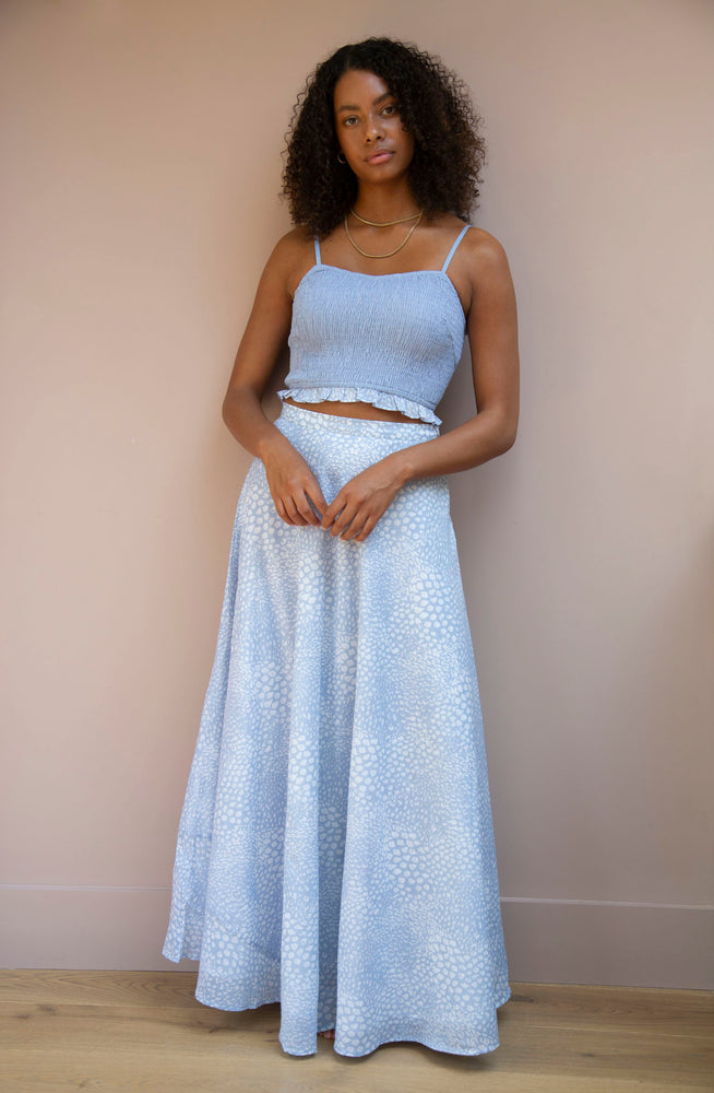 Blue Tallulah Skirt