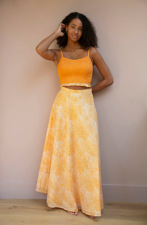 Orange Tallulah Skirt