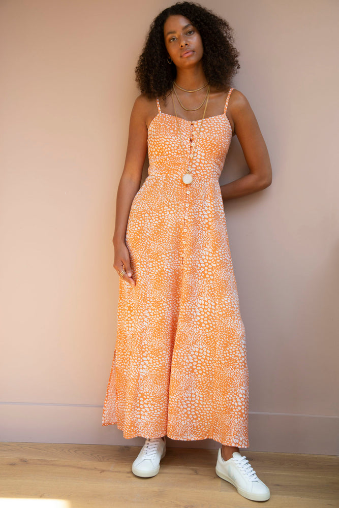 Orange Lilah Dress