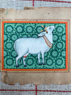 Load image into Gallery viewer, Holi Cow Painting (1)