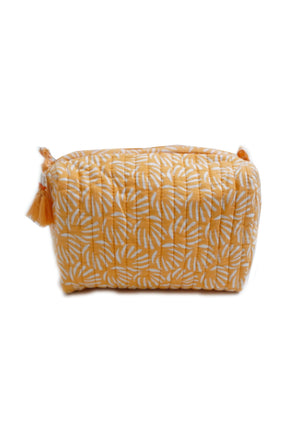 Peach Organic Cotton Washbag