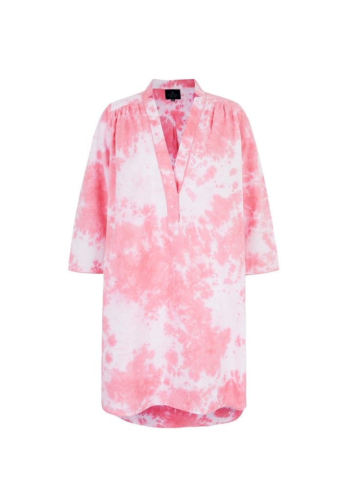Load image into Gallery viewer, Pink Tie Dye Nightshirt