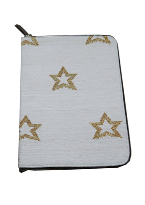 Load image into Gallery viewer, Pale Pink Star Laptop Case