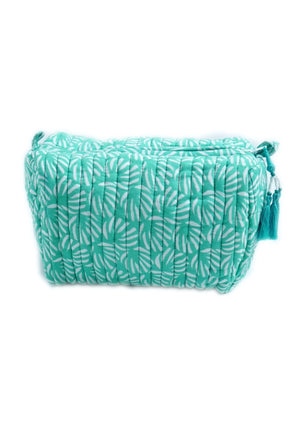 Green Organic Cotton Washbag