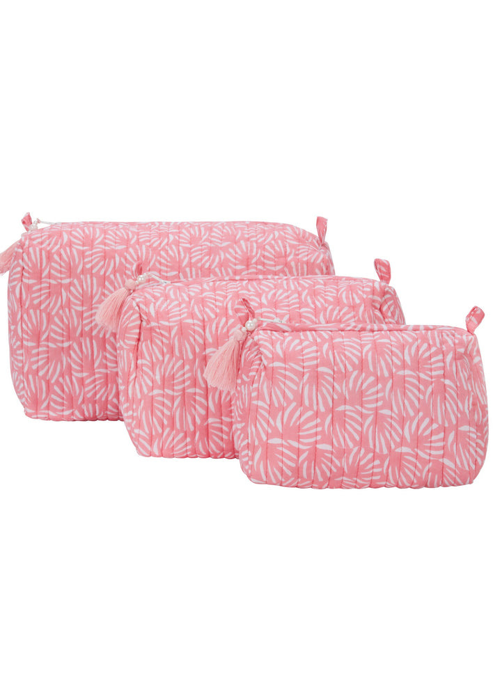 Pink Organic Cotton Washbag