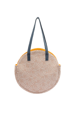 Load image into Gallery viewer, Mint Coral Circle Bag