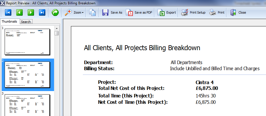 Timesheet Xpress Reporting and Billing, with Invoicing capability.  Never underbill again.