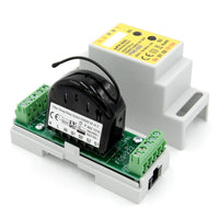 Eutonomy euFIX Adapter DIN for Fibaro Relay Switch 2x1,5kW (with Push-Buttons) Migration_Modules Eutonomy