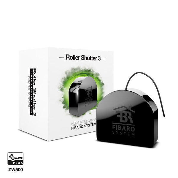 Z-Wave Plus Fibaro FGR-223 Roller Shutter 3 Migration_Blind and Curtain Control Fibaro