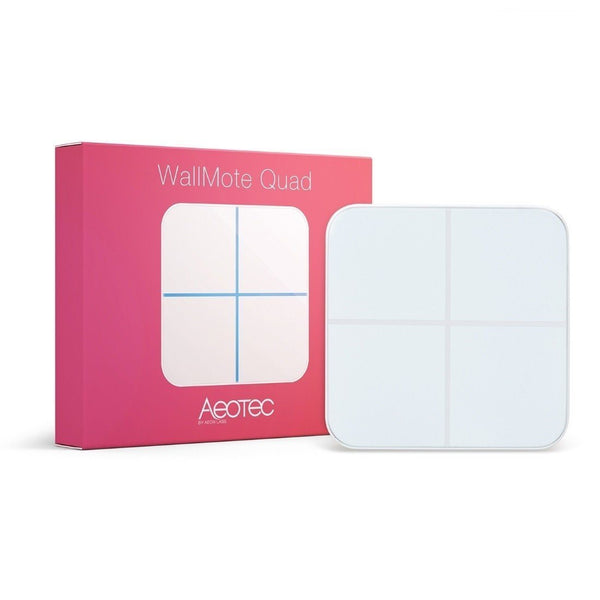 Z-Wave Plus Aeotec WallMote Quad Migration_Remote Controls Aeotec