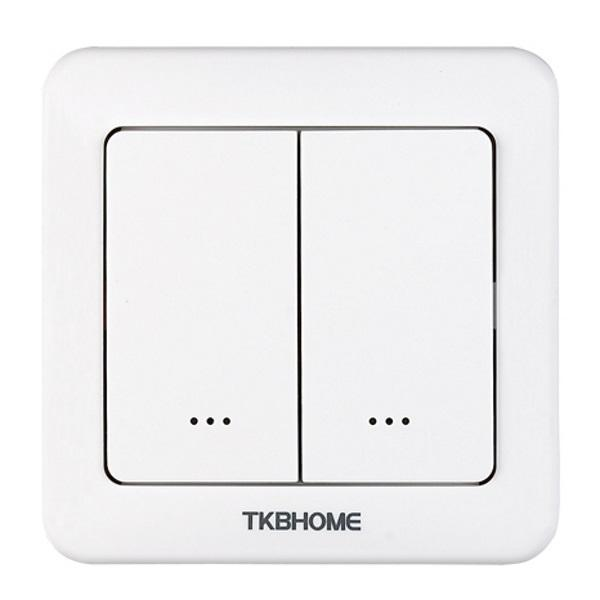 Z-Wave TKB Double Relay Wall Switch TZ37 - Gen5 Migration_Wall Switches TKB