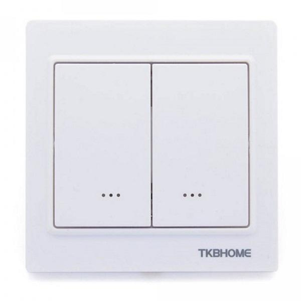 Z-Wave TKB Dual Paddle Wall Switch TZ56D - Gen5 Migration_Wall Switches TKB