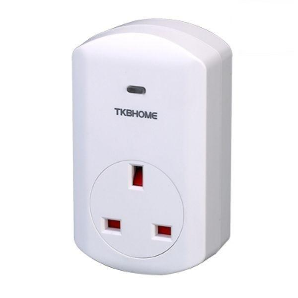Z-Wave TKB TZ69E Wall Plug Switch/Meter - GEN5 - UK Migration_Sockets TKB