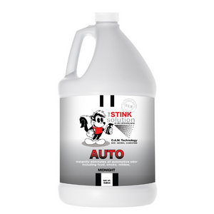 The Stink Solution Auto Midnight Odor Eliminating Spray Gallon