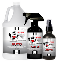 Load image into Gallery viewer, Auto Odor Eliminating Spray in Midnight Gallon, 16 oz. and 4 oz Bundle