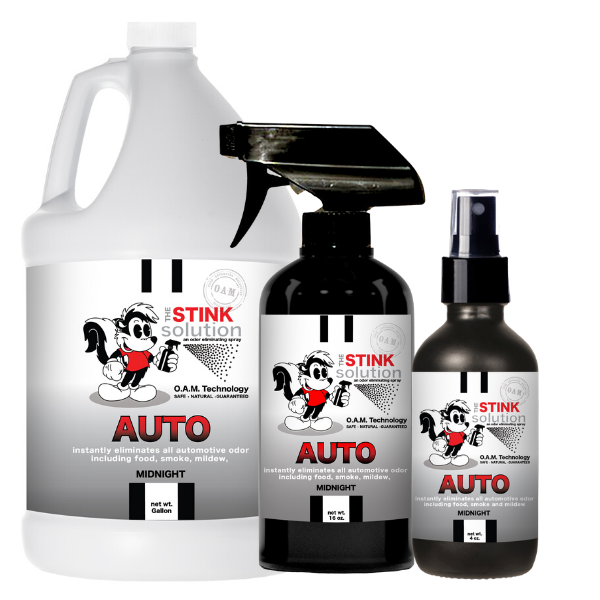 The Stink Solution Auto Midnight Odor Eliminating Spray Bundle