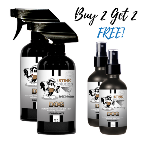Buy 2 Get 2 FREE Bundle - Dog Odor Eliminator in Pomegranate Fragrance