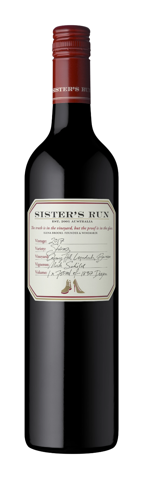 Sisters Run Calvary Shiraz